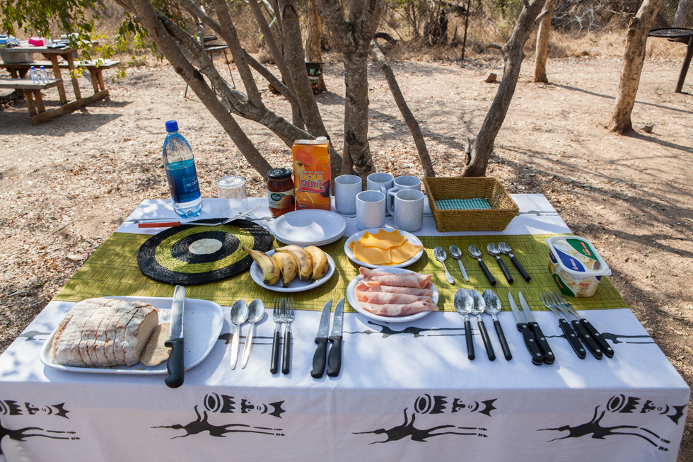 Breakfast Table, Maroela Camping Safari