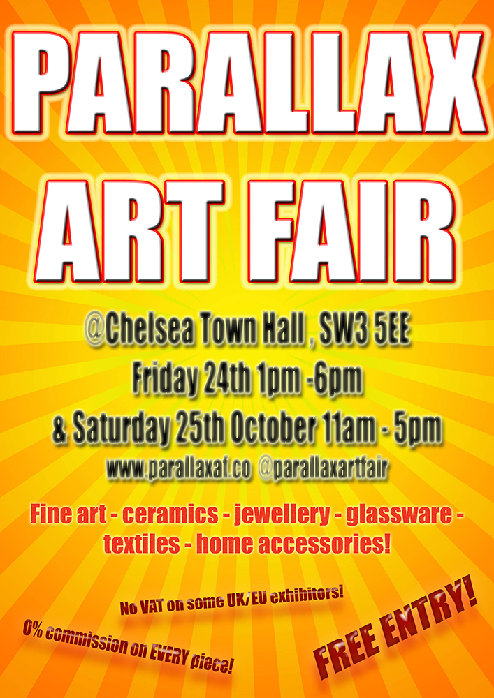 Parallax Art Fair Poster