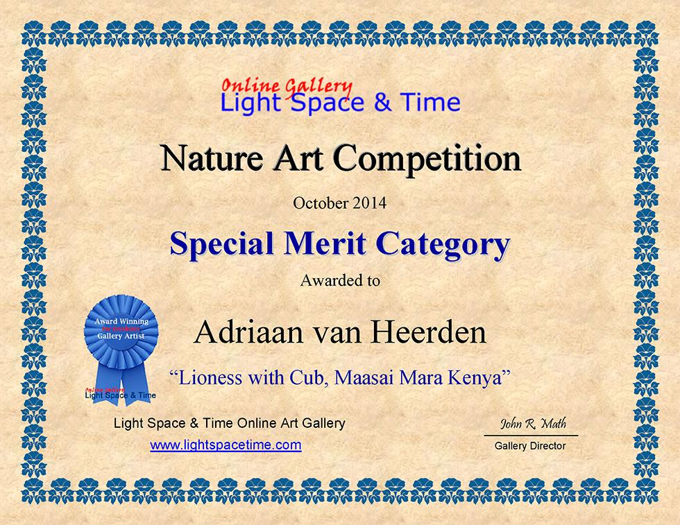 SM-Adriaan-van-Heerden-NATURE-ART-COMP-CERTIFICATE