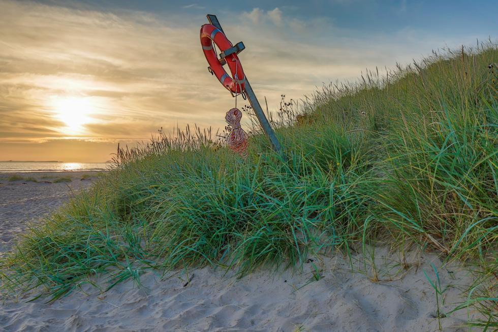 Lifebuoy, Bamburgh, Northumberland