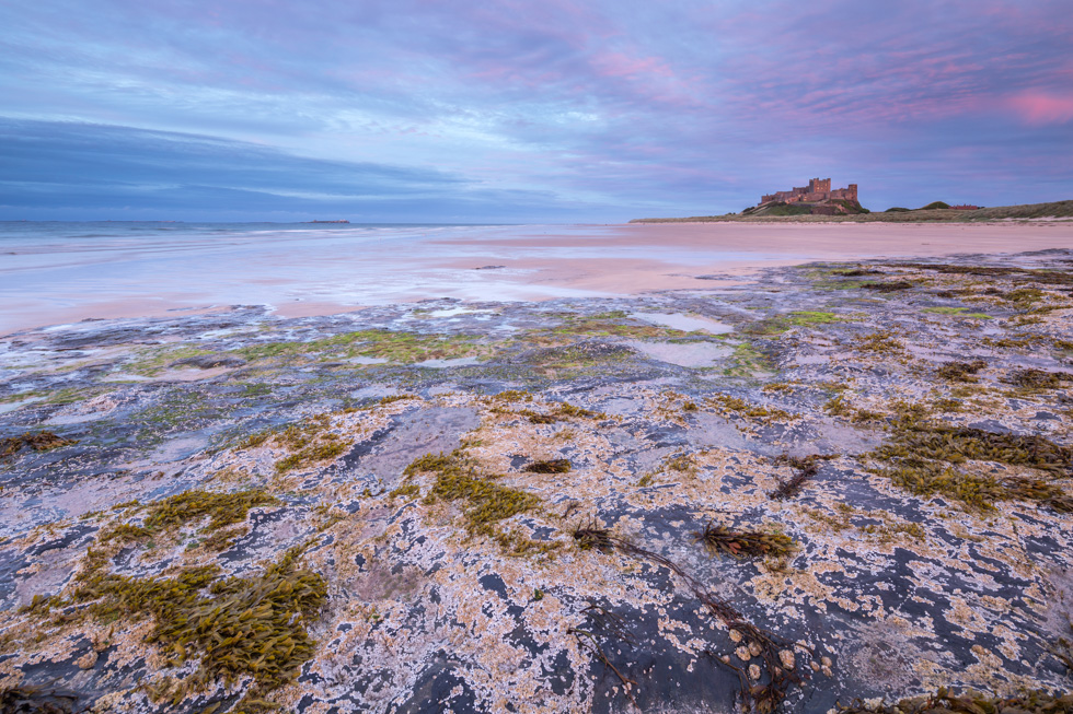 Sunset, Bamburgh, Northumberland