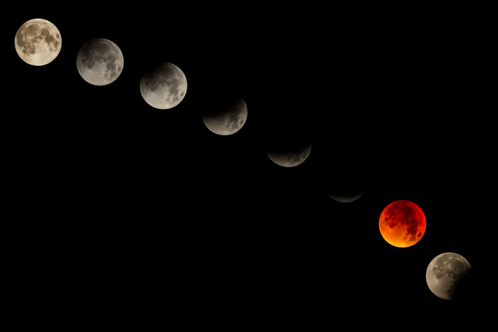 Supermoon Eclipse, September 2015