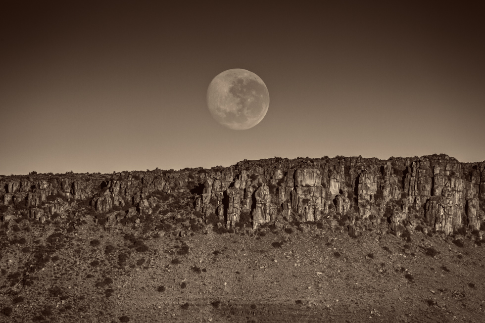 Full Moon, Karoo National Park, South Africa