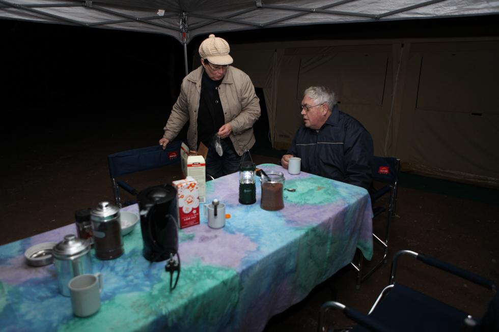 Morning Coffee, Maroela Camping Safari