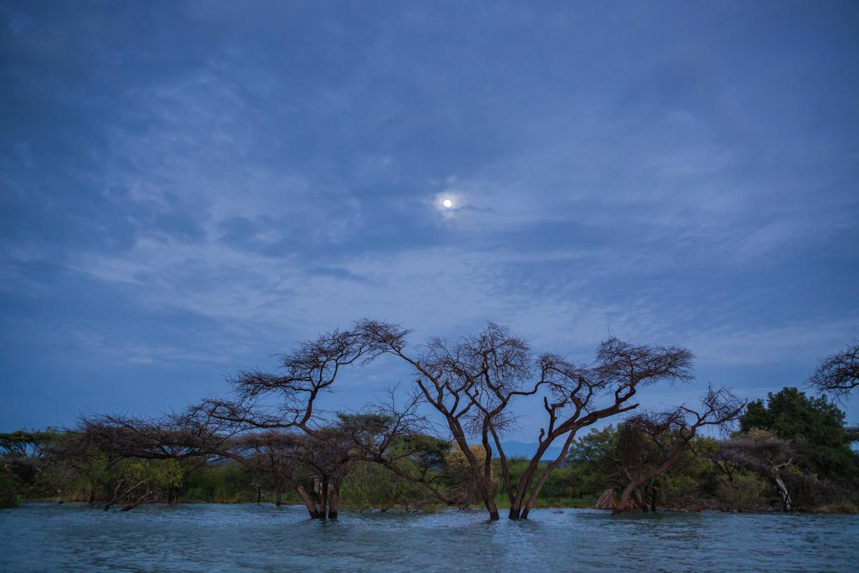 Sunrise, Lake Baringo, Kenya