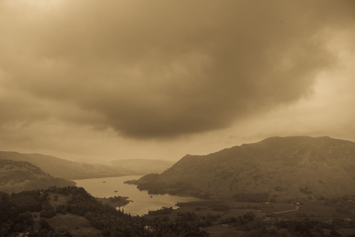 Ullswater from Fairfield, Lake District