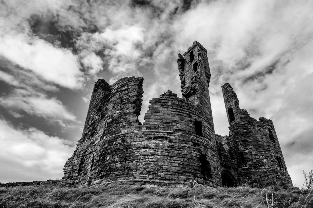 Ruins, Dunstanburgh Castle, Northumberland
