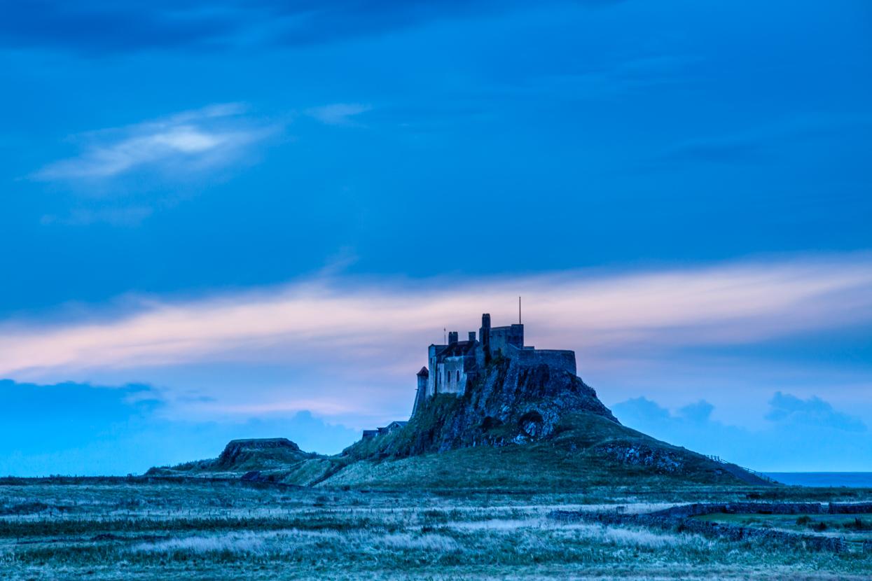 Sunrise, Lindisfarne Castle, Northumberland