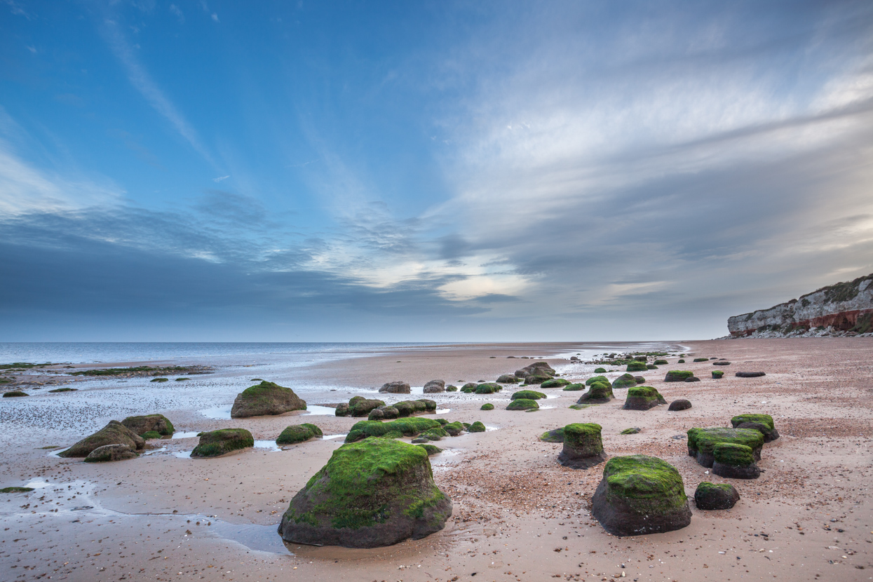 Stones and Sky, Hunstanton Beach, North Norfolk Coast