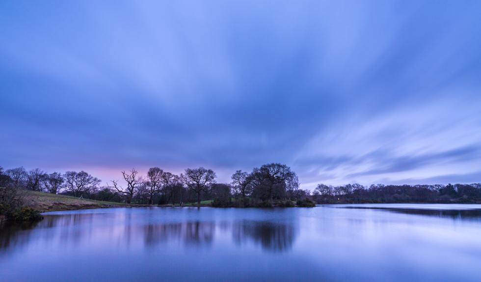 Sunrise, Lindow Common, Cheshire, UK