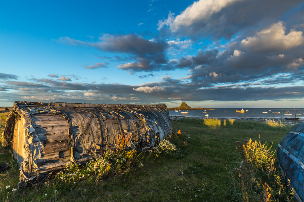 Harbour, Holy Island, Northumberland