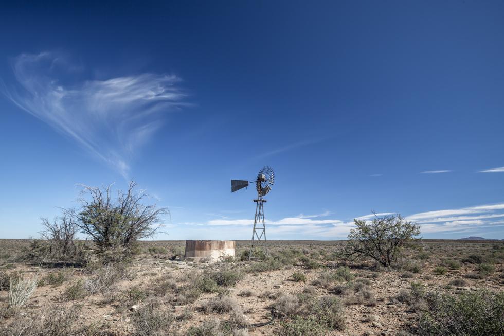 Windpump, Karoo National Park, South Africa