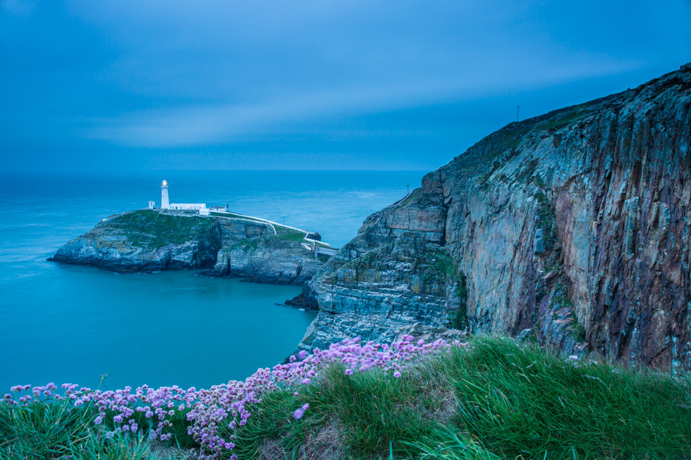 Sunset, South Stack Lighthouse, Anglesey