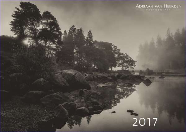 Calendar 2017 front cover