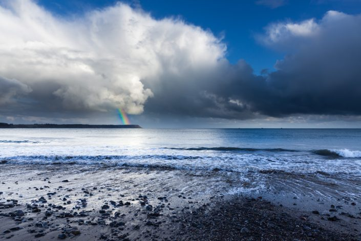 Rainbow Over Oxwich Bay, Gower Peninsula