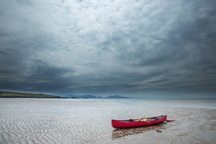 Red Canoe, Aberffraw Bay, Anglesey
