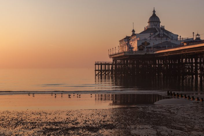 Sunset, Eastbourne Pier, East Sussex
