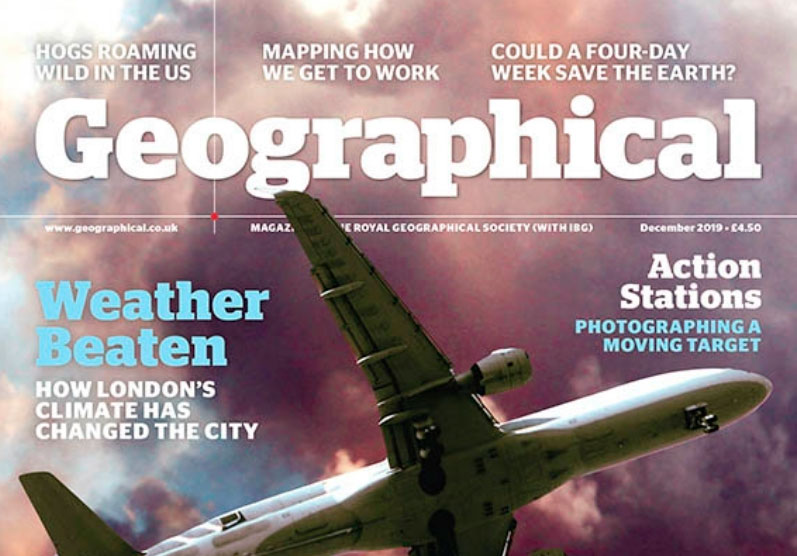 """Unreal City"" featured in Geographical Magazine December 2019"